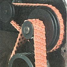 Příklad použití klínový řemen NU-T-Link Fenner