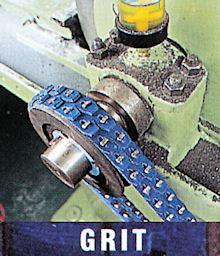 Příklad použití klínový řemen Super-T-Link Fenner