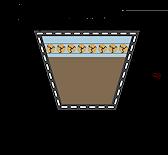 Násobný klínový řemen řez Rubena Uni BP