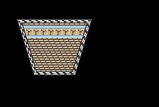 Násobný klínový řemen řez Rubena FarmBelt