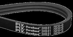 Násobný klínový řemen PIX DuraBand XS