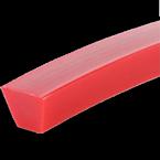 Polyuretanový klínový profil 90A Red | Pikron.cz