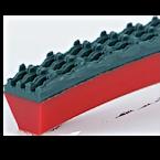 PU klínový profil profil 90A Red + Supergrip | Pikron.cz