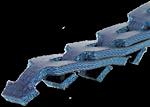 Článkový antistatický řemen PowerTwist Blue | Pikron.cz
